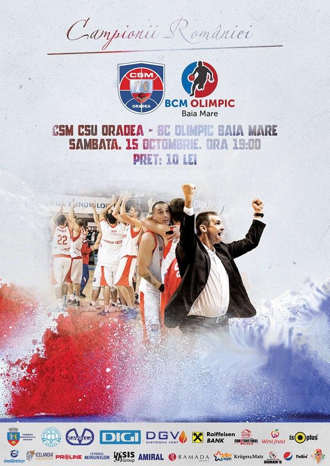 CSM CSU Oradea vs BC Olimpic Baia Mare