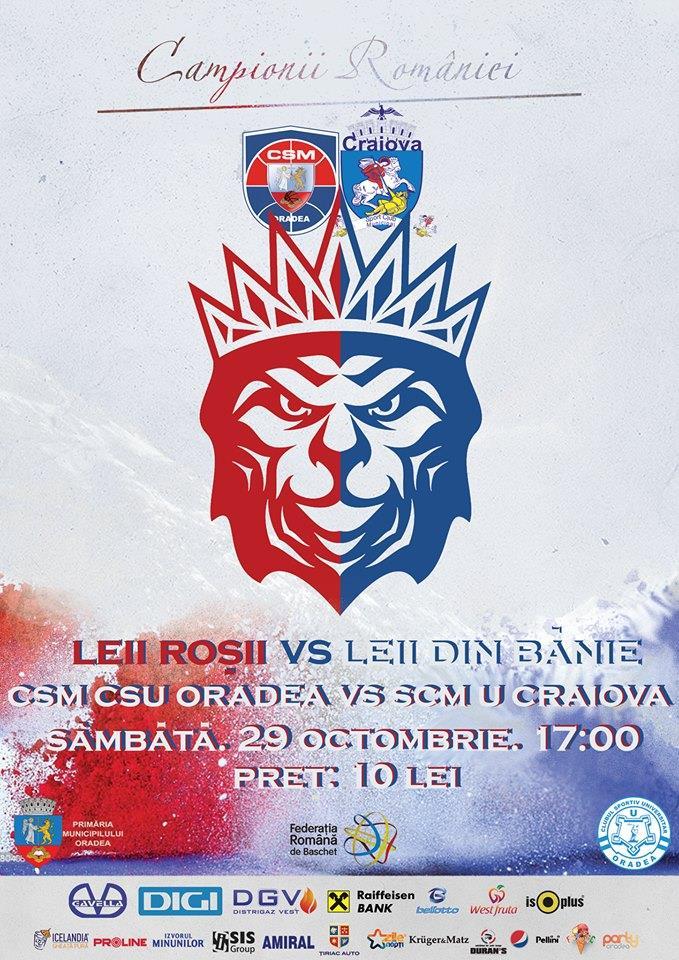 CSM CSU Oradea vs SCM U Craiova