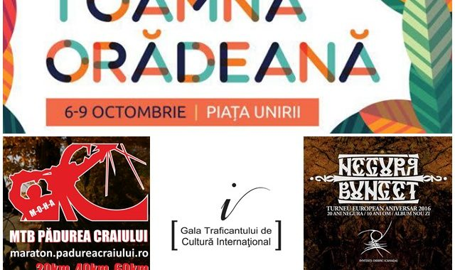 Ce poți face în săptămâna 3 - 9 octombrie? - Ghid Local Oradea