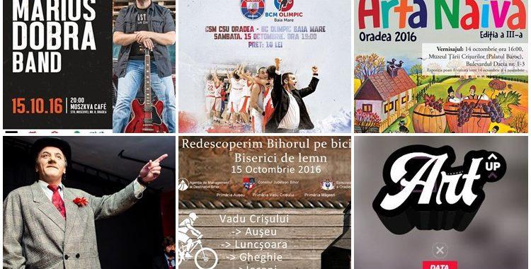 Ce poți face în weekendul 14 - 16 octombrie? - Ghid Local Oradea