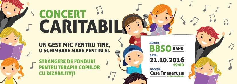 Concert caritabil pentru copiii cu dizabilități