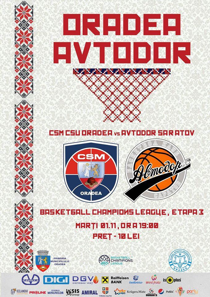 CSM CSU Oradea vs Avtodor Saratov