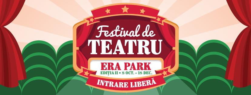Festival de teatru cu intrare liberă - Era Park