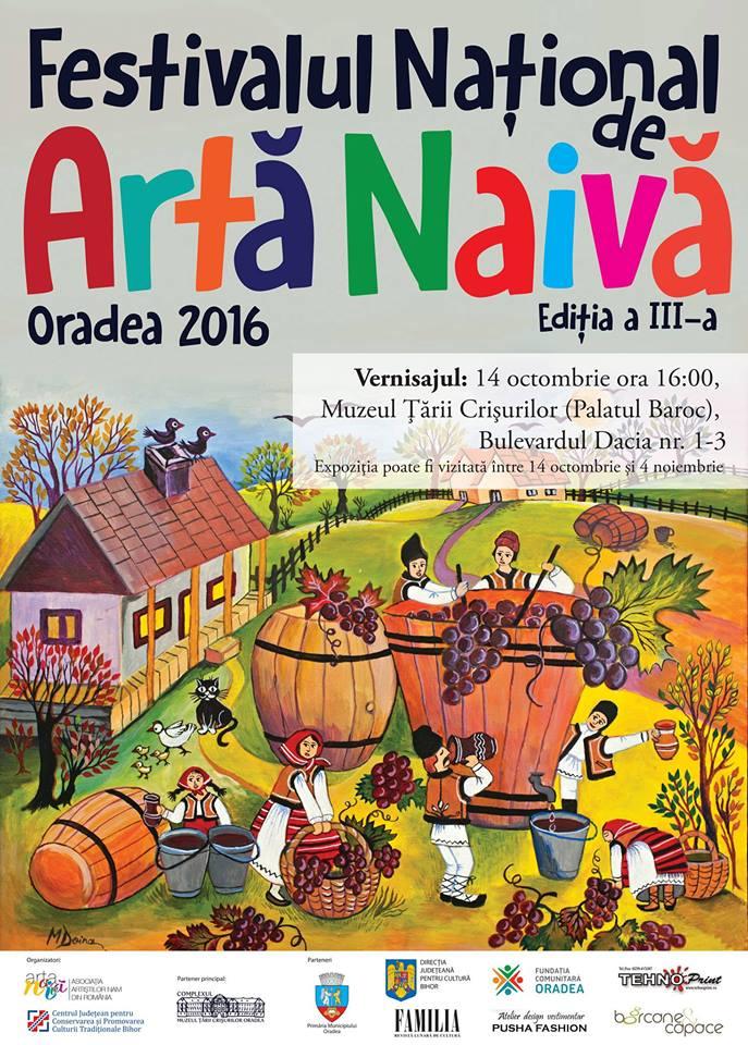 Ediţia a III-a a Festivalului Naţional de Artă Naivă