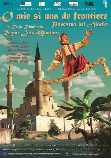 O mie și una de frontiere - Povestea lui Aladin