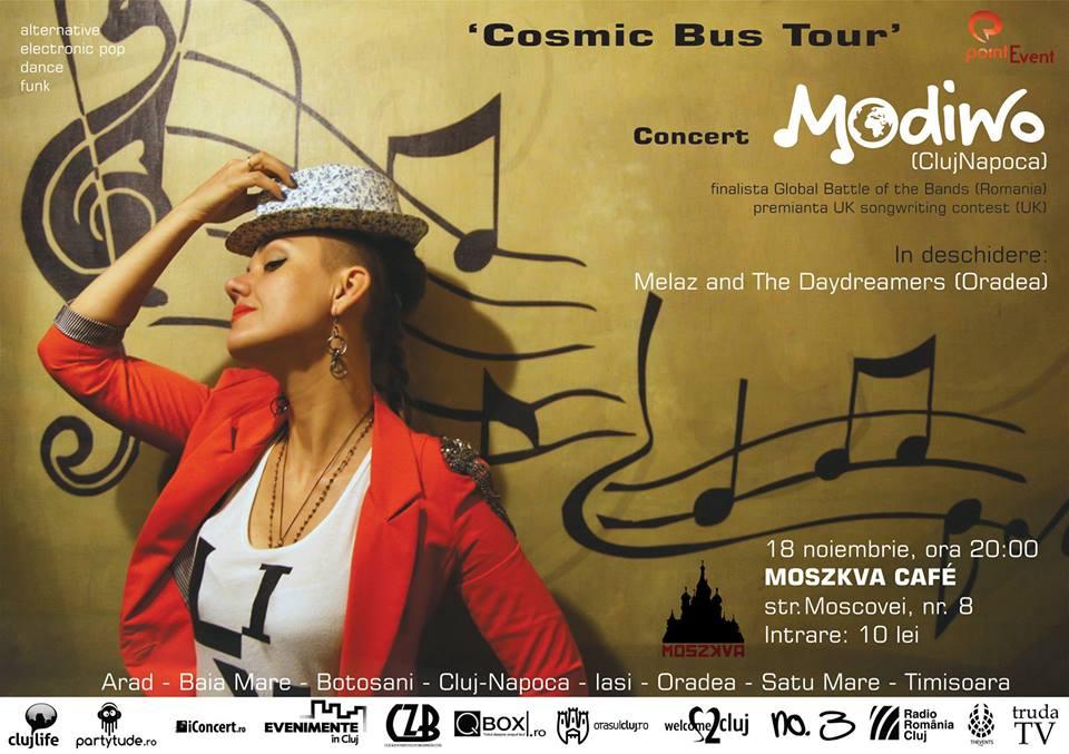 Concert: Modiwo și Melaz & The Daydreamers