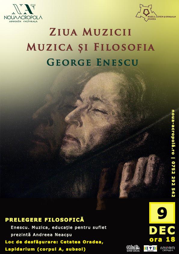 Muzica, educație pentru suflet - George Enescu