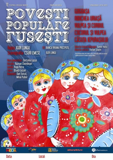 Teatru copii: Povești populare rusești