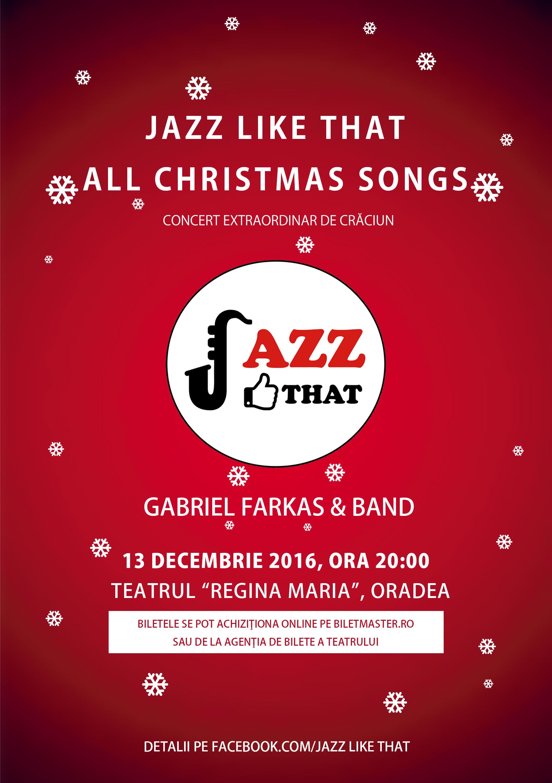 """""""All Christmas Songs"""" pe ritmuri de jazz"""