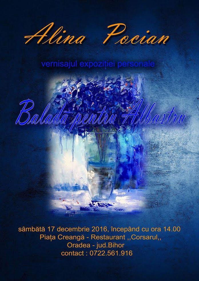 Baladă pentru albastru de Alina Pocian