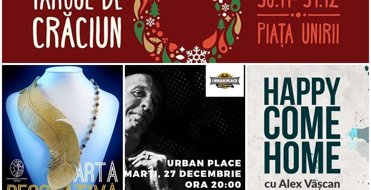 Ce poți face în săptămâna 26 decembrie – 1 ianuarie? - Ghid Local Oradea