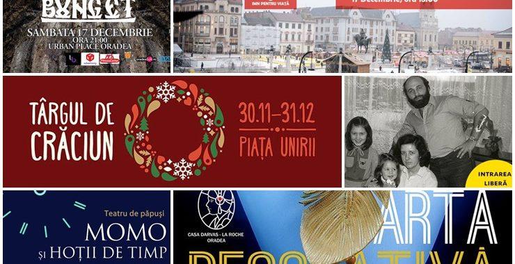 Ce poți face în weekendul 16 – 18 decembrie 2016? - Ghid Local Oradea