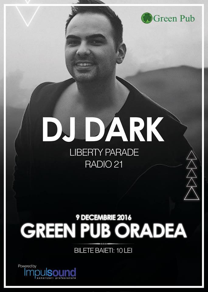 DJ Dark în Green Pub