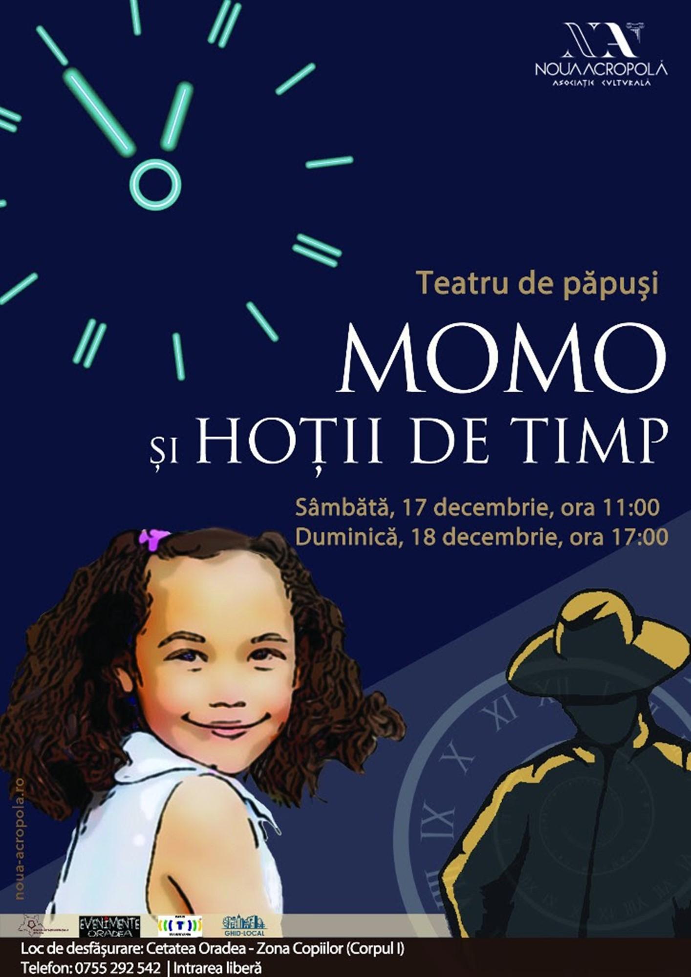 Teatru de păpuși: Momo și hoții de timp