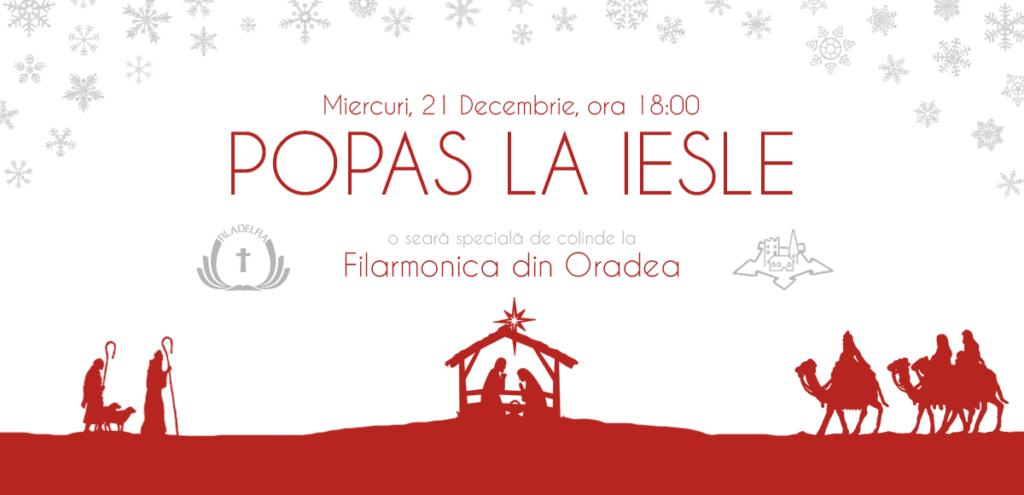 Popas la iesle (Filarmonica din Oradea)