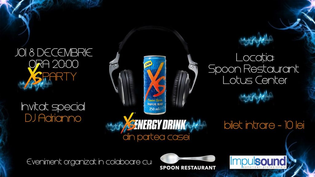 XS Music Party în Restaurantul Spoon