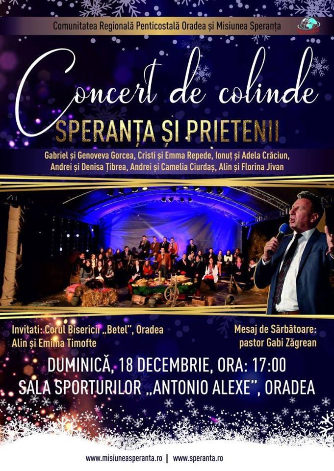 Concert de Colinde - Speranța și prietenii - Gabi Zăgrean