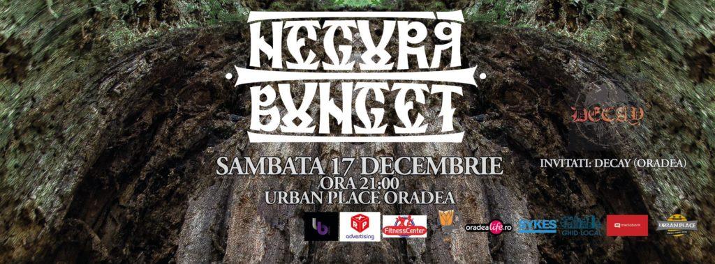 Concert Negură Bunget în Urban Place