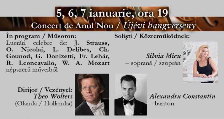 Concert simfonic de Anul Nou