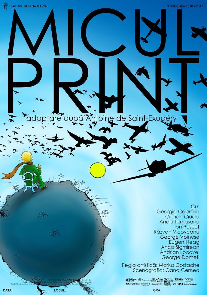 Premiere la Teatrul Regina Maria: Micul Prinț și Sărbători zăpăcite