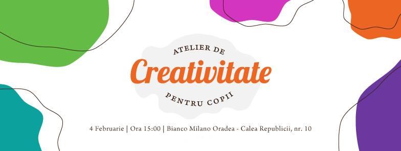 Atelier de creativitate la Bianco Milano