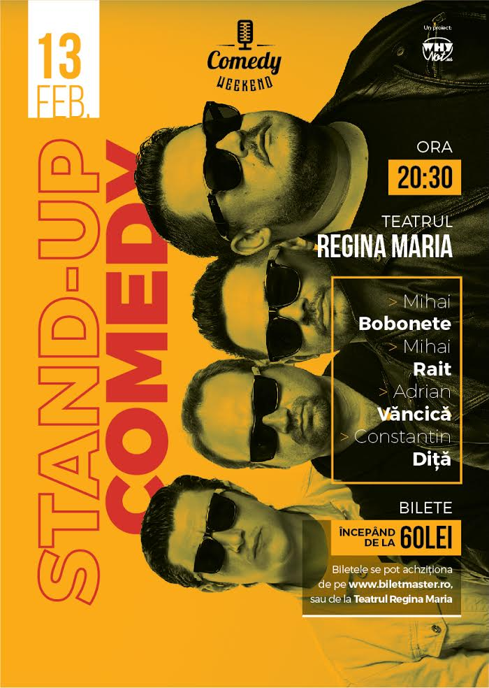 comedy weekend - stand-up comedy