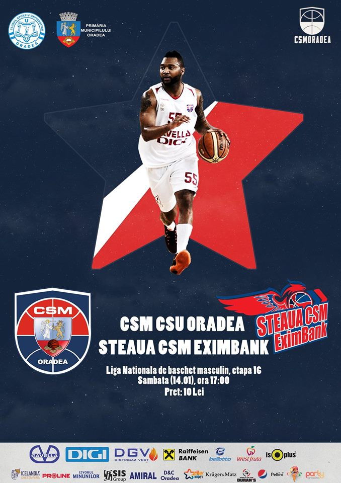 CSM CSU Oradea vs Steaua CSM EximBank București