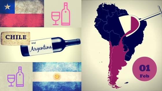 Degustare de vin: Chile vs. Argentina