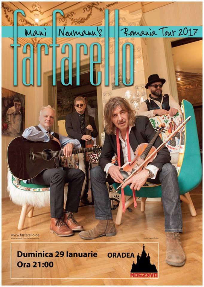 Concert: Farfarello în Moszkva Cafe