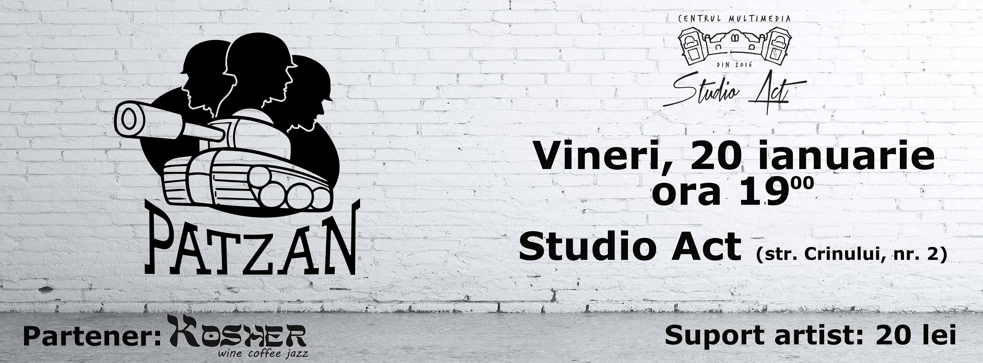 Impro Patzan Show în 20 ianuarie