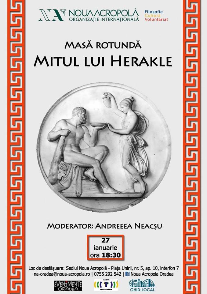 Masă rotundă: Mitul lui Herakle