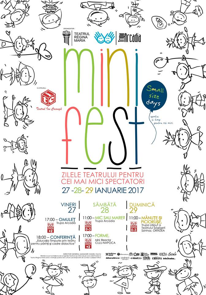 Mini Fest - Zilele teatrului pentru cei mai mici spectatori