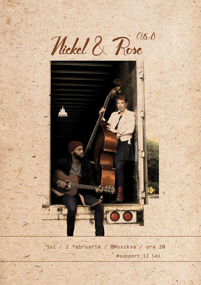 Concert: Nickel & Rose - new style of American music