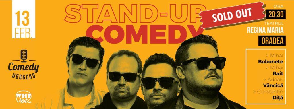 Stand-Up Comedy cu Bobonete, Văncică, Rait și Diță