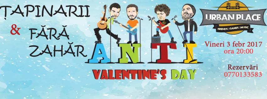 Țapinarii și Fără Zahăr: Anti Valentine's Day