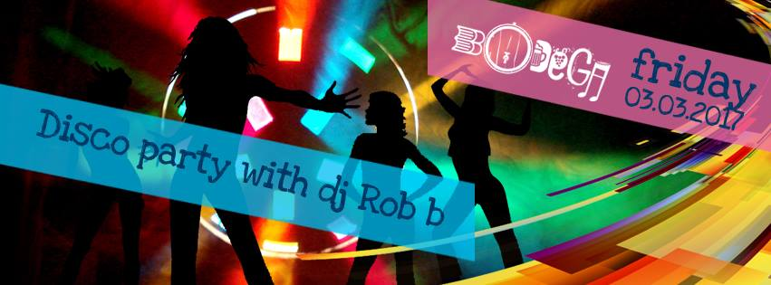 DISCO PARTY with DJ Rob - Oradea