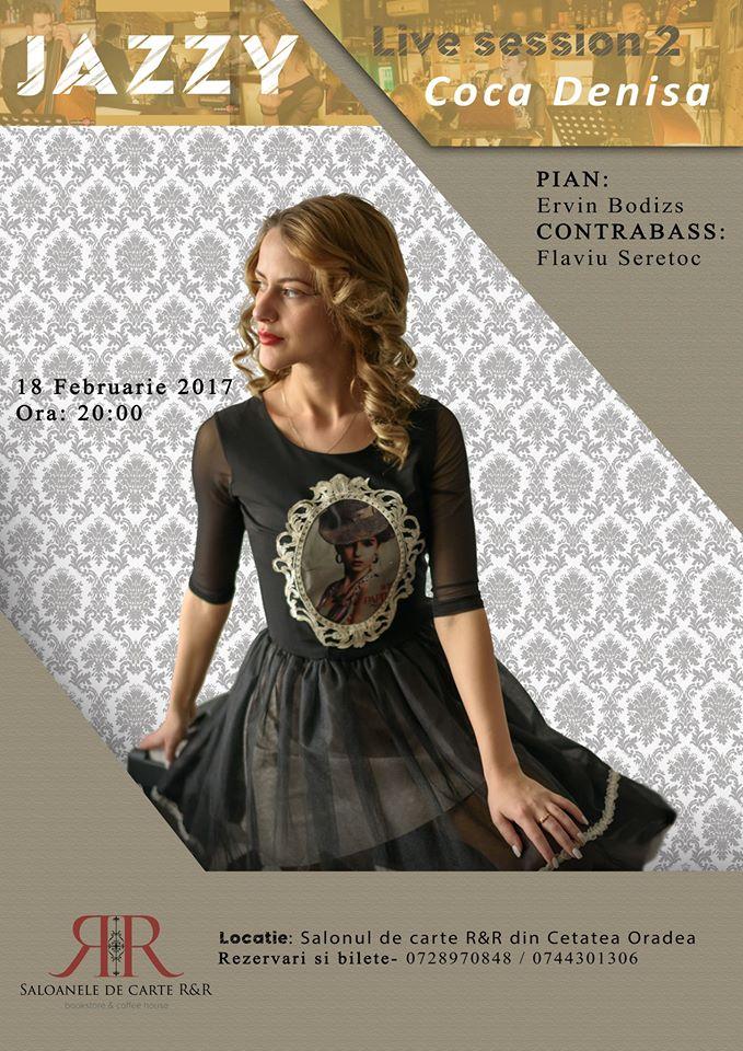 Jazzy night: Live session cu Denisa Coca - Oradea