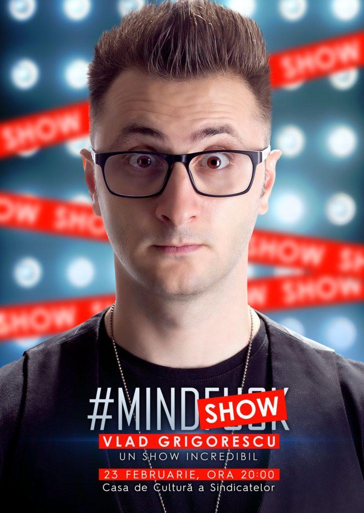 Turneul Mindshow by Vlad Grigorescu ajunge la Oradea - Oradea