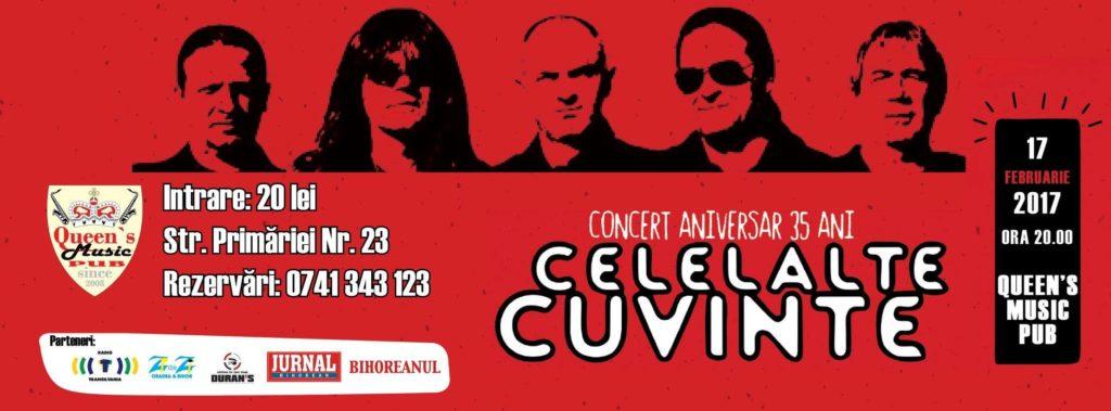 Concert aniversar: 35 de ani alături de Celelalte Cuvinte - Oradea
