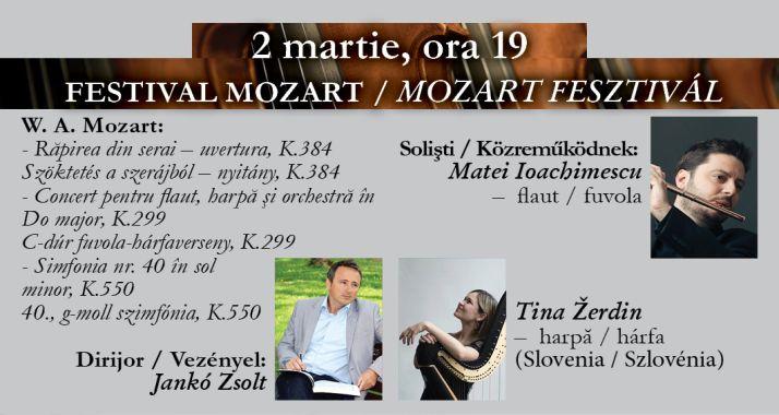 Concert simfonic: Festivalul Mozart - Oradea