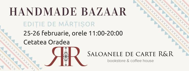 Handmade Bazaar la Salonul de Carte din Cetate - Oradea