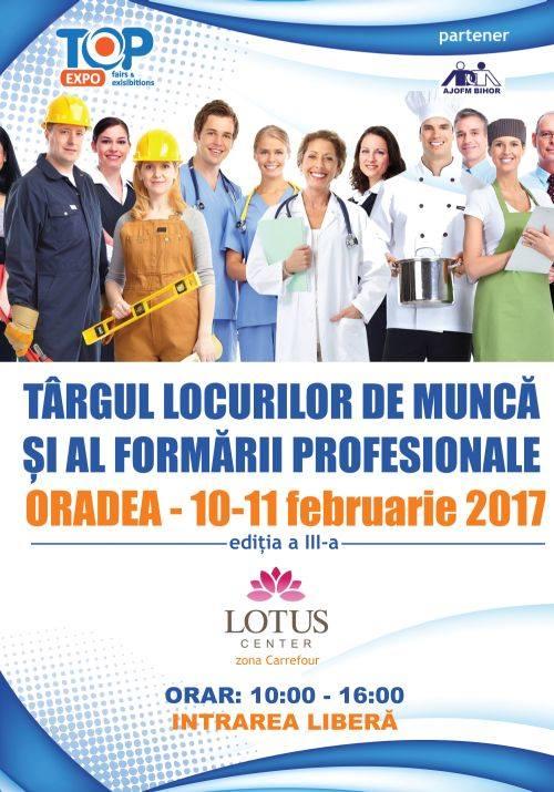 Târgul locurilor de muncă și al formării profesionale - Oradea