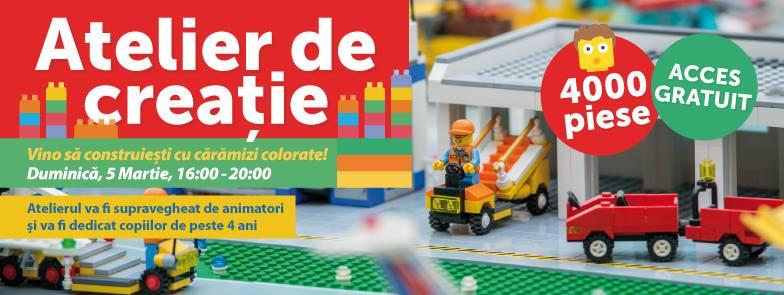 Atelier de creație LEGO - Oradea