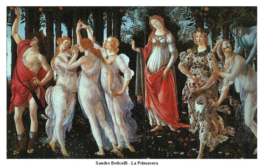 """Conferință: Interpretarea ezoterică a """"Primăverii"""" lui Botticelli - Oradea"""