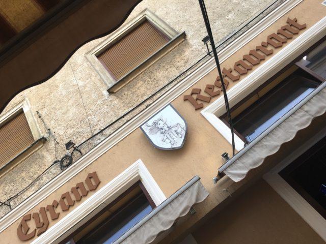 Restaurantul Cyrano - Oradea