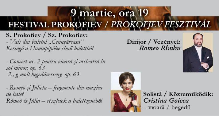 Concert simfonic: Festival Prokofiev - Oradea