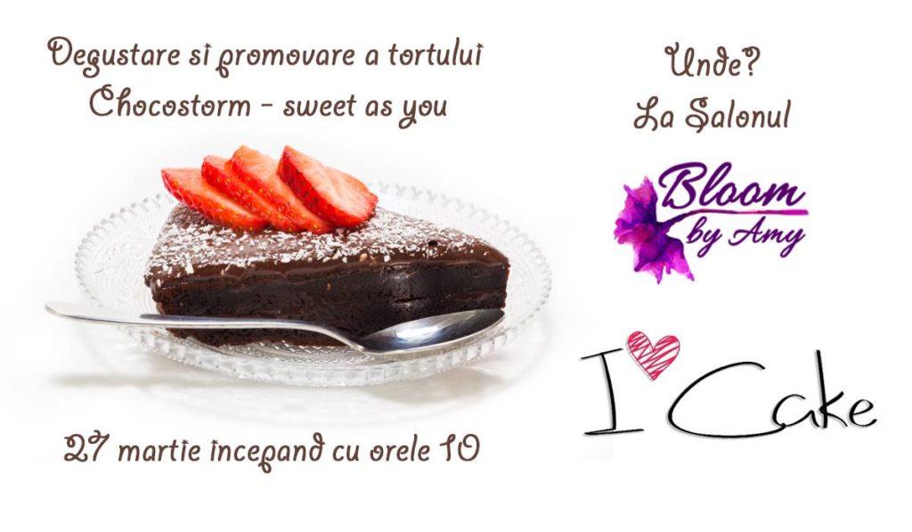 Degustare și promovare tort Chocostorm - Oradea