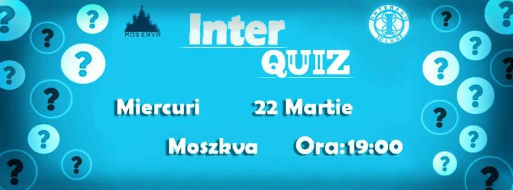 InterQuiz la Moszkva Cafe - Oradea
