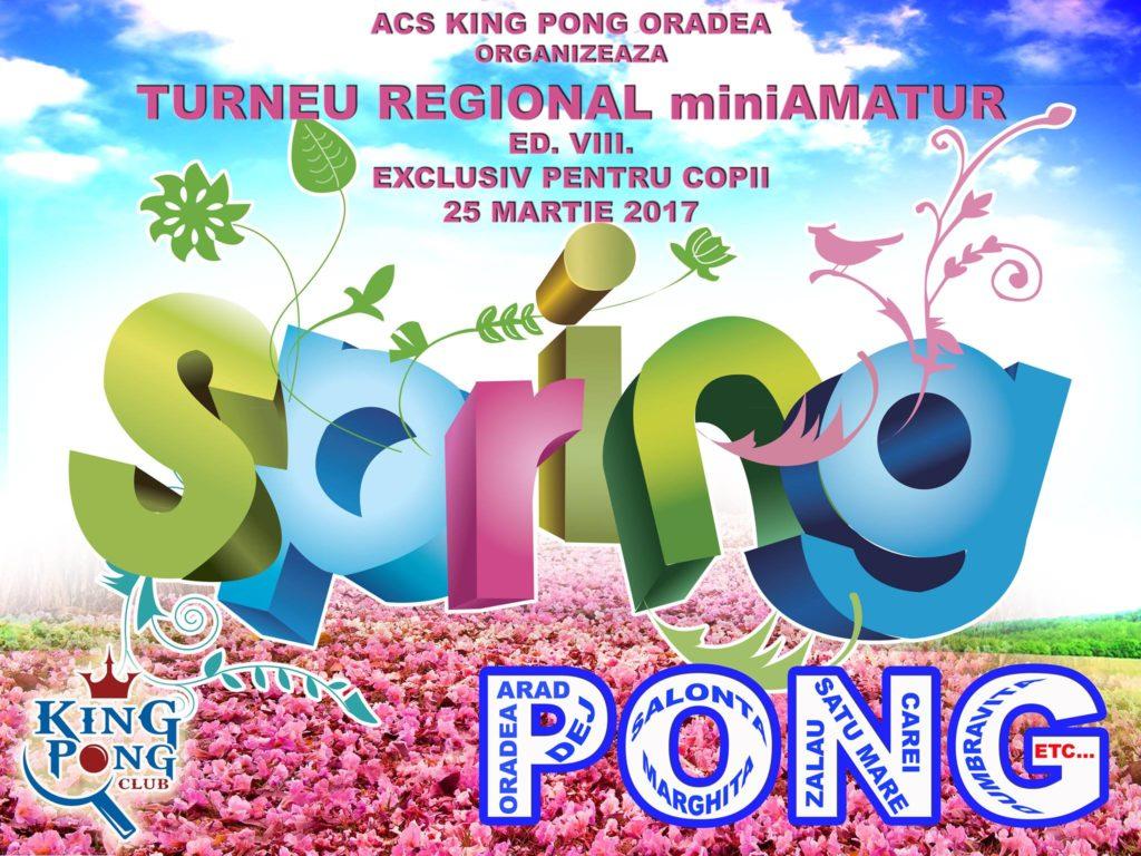 SpringPong: Turneu Mini-AMATuR - Oradea