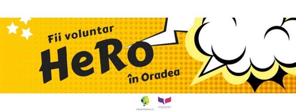 În căutarea unor voluntari pentru proiectul HeRo - Oradea